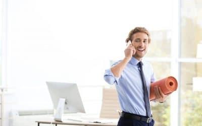 Le sport au travail accroît l'efficacité des employés