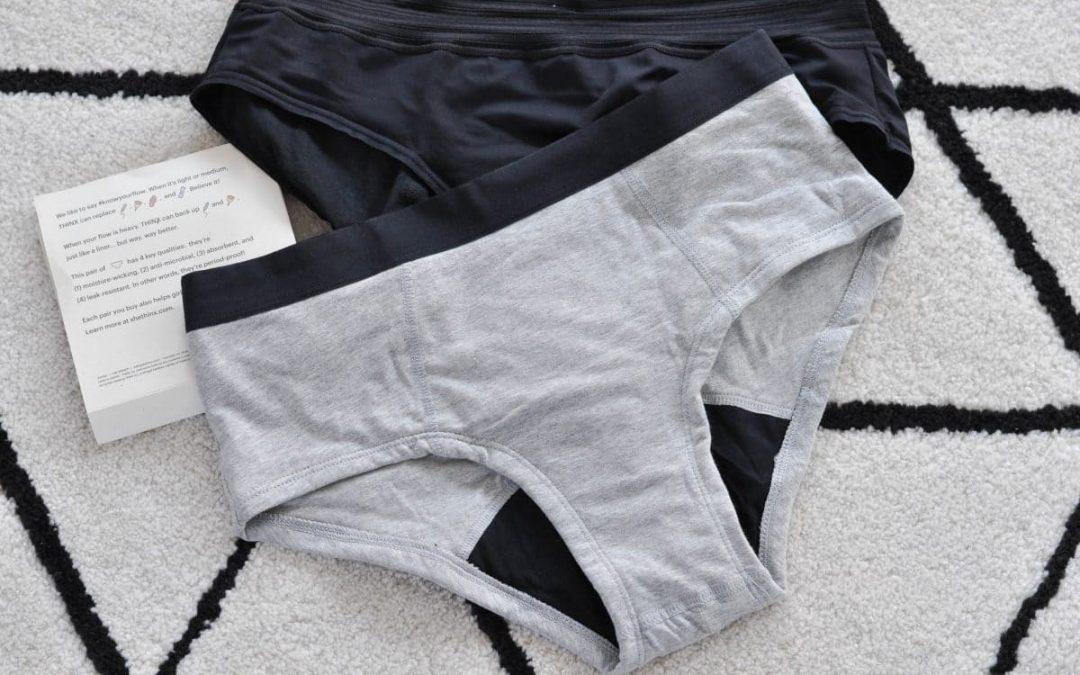 Quelles sont les propriétés d'une culotte absorbante ?